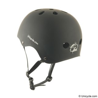 Unicycle.com Helm - Schwarz