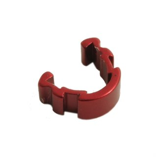 Cable Clips Red