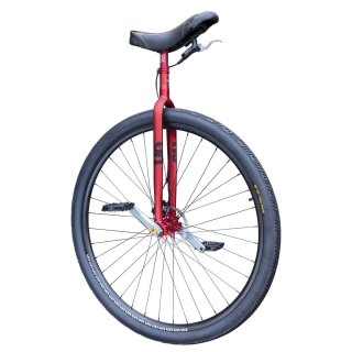 787mm (36 Inch) QX #rgb Duni Unicycle Red