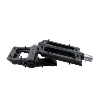 QX-Series Nylon Pedals / Metal Pins - Black