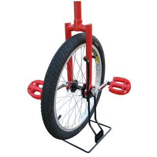 Unicycle Stand for 16 - 20 Inch Unicycles - Two-pieces