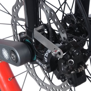 Nimbus Disc Brake Mount Schwarz
