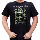 T-Shirt Municycle.com M