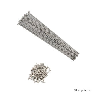 Spokes up to 290mm - 2.0mm Silver