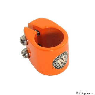 Sattelklemme 25.4mm - Nimbus - 2 Bolt Orange